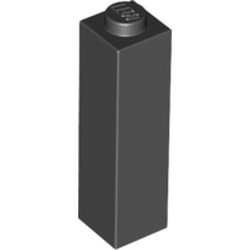 Black Brick 1 x 1 x 3 - new