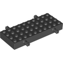 Black Brick, Modified 4 x 10 with 4 Pins