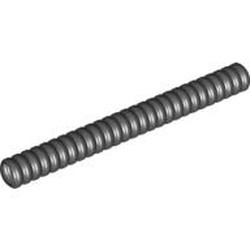 Black Hose, Ribbed 7mm D. 9L - used
