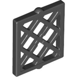 Black Pane for Window 1 x 2 x 2 Lattice Diamond