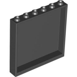 Black Panel 1 x 6 x 5 - used
