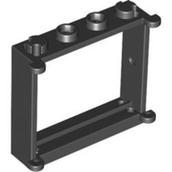 Black Window 1 x 4 x 3 - used
