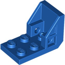 Blue Bracket 3 x 2 - 2 x 2 Inverted (Space Seat) - new
