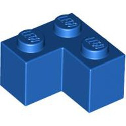Blue Brick 2 x 2 Corner - new