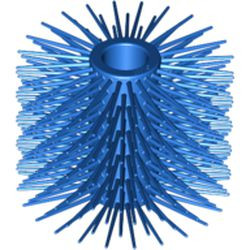 Blue Vehicle, Brush