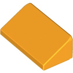 Bright Light Orange Slope 30 1 x 2 x 2/3 - used