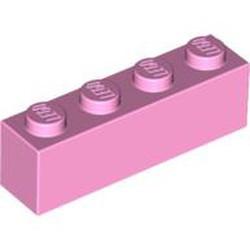 Bright Pink Brick 1 x 4