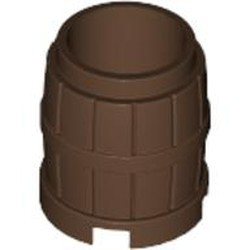 Brown Container, Barrel 2 x 2 x 2 - used