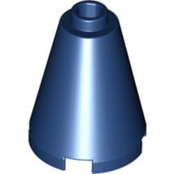 Dark Blue Cone 2 x 2 x 2 - Open Stud
