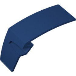 Dark Blue Technic, Panel Car Mudguard Right - used