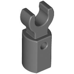 Dark Bluish Gray Bar Holder with Clip