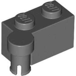 Dark Bluish Gray Hinge Brick 1 x 4 Swivel Top - new