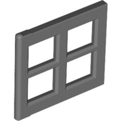 Dark Bluish Gray Pane for Window 2 x 4 x 3 - used