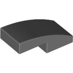 Dark Bluish Gray Slope, Curved 2 x 1 - new