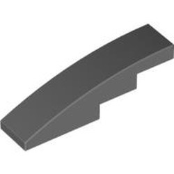 Dark Bluish Gray Slope, Curved 4 x 1 - used