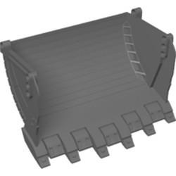 Dark Bluish Gray Technic, Digger Bucket 10 x 19 - new