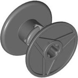 Dark Bluish Gray Technic Reel 3 x 2