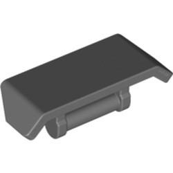 Dark Bluish Gray Vehicle, Spoiler 2 x 4 with Bar Handle