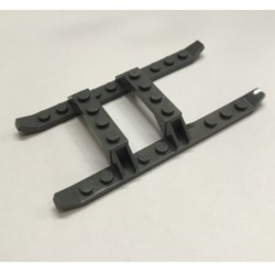 Dark Gray Helicopter Sled Rails 12 x 6
