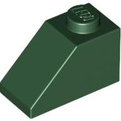 Dark Green Slope 45 2 x 1 - new