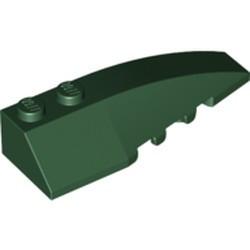 Dark Green Wedge 6 x 2 Right - used