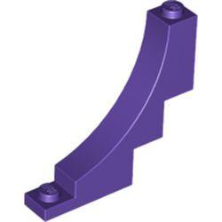 Dark Purple Arch 1 x 5 x 4 Inverted