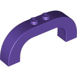 Dark Purple Arch 1 x 6 x 2 Curved Top