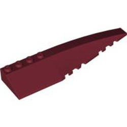 Dark Red Wedge 12 x 3 Right - used