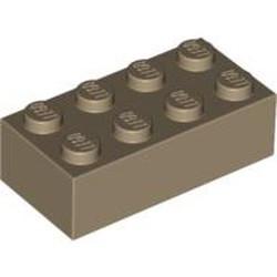 Dark Tan Brick 2 x 4