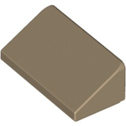 Dark Tan Slope 30 1 x 2 x 2/3 - new