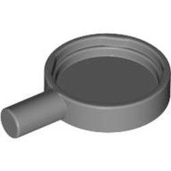 Flat Silver Minifigure, Utensil Frying Pan