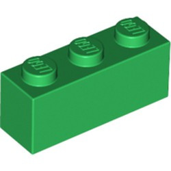 Green Brick 1 x 3 - new