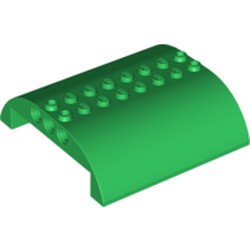 Green Slope, Curved 8 x 8 x 2 Double