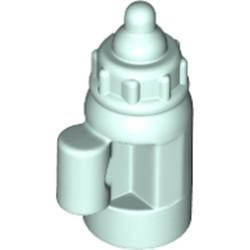 Light Aqua Minifigure, Utensil Baby Bottle with Handle