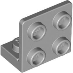 Light Bluish Gray Bracket 1 x 2 - 2 x 2 Inverted - new
