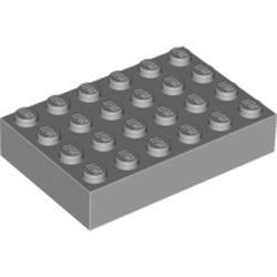 Light Bluish Gray Brick 4 x 6