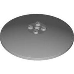 Light Bluish Gray Dish 8 x 8 Inverted (Radar) - new - Solid Studs