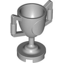 Light Bluish Gray Minifigure, Utensil Trophy Cup