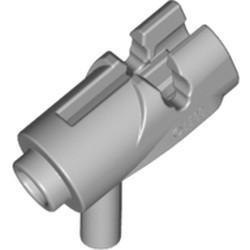 Light Bluish Gray Minifigure, Weapon Gun, Mini Blaster / Shooter