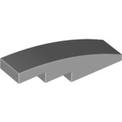 Light Bluish Gray Slope, Curved 4 x 1