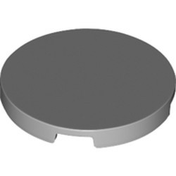 Light Bluish Gray Tile, Round 3 x 3