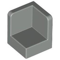 Light Gray Panel 1 x 1 x 1 Corner