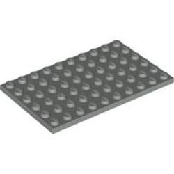Light Gray Plate 6 x 10 - used