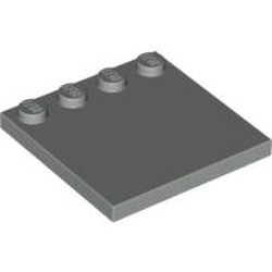 Light Gray Tile, Modified 4 x 4 with Studs on Edge