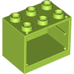 Lime Container, Cupboard 2 x 3 x 2