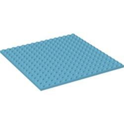 Medium Azure Plate 16 x 16 - new