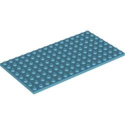 Medium Azure Plate 8 x 16 - new