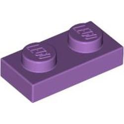 Medium Lavender Plate 1 x 2 - used