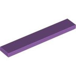 Medium Lavender Tile 1 x 6 - used