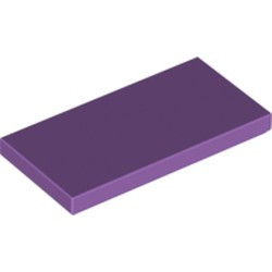 Medium Lavender Tile 2 x 4